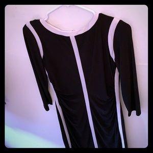 Ralph Lauren B&W dress